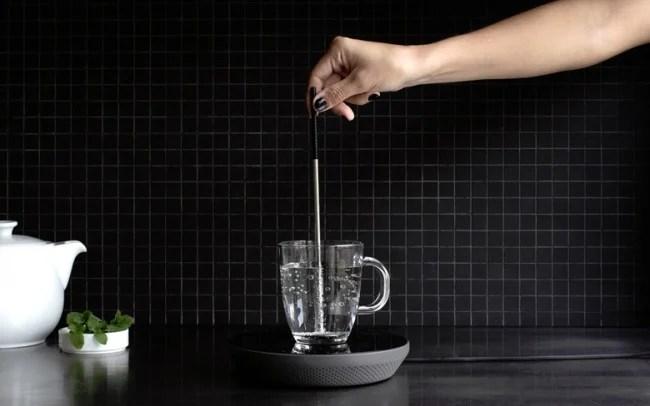 recipiente calentador de agua