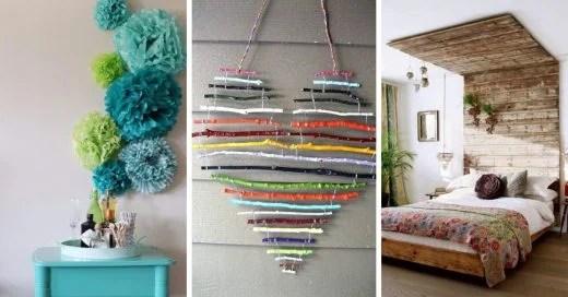 25 diseños que harán inspirarte para decorar tu habitación on Room Decor Manualidades Para Decorar Tu Cuarto id=21307
