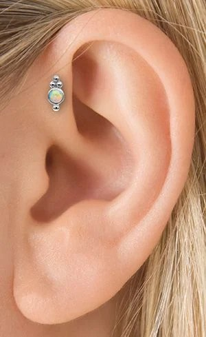 Piercing para mujeres en los oidos