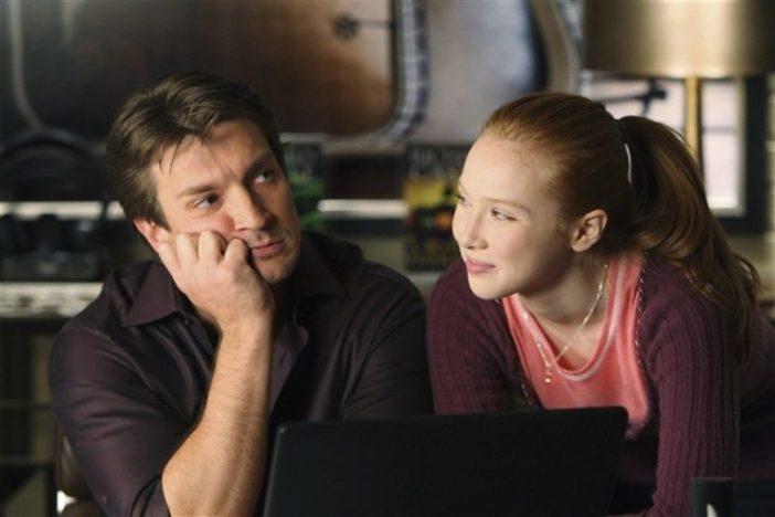 Padre e hija conversando