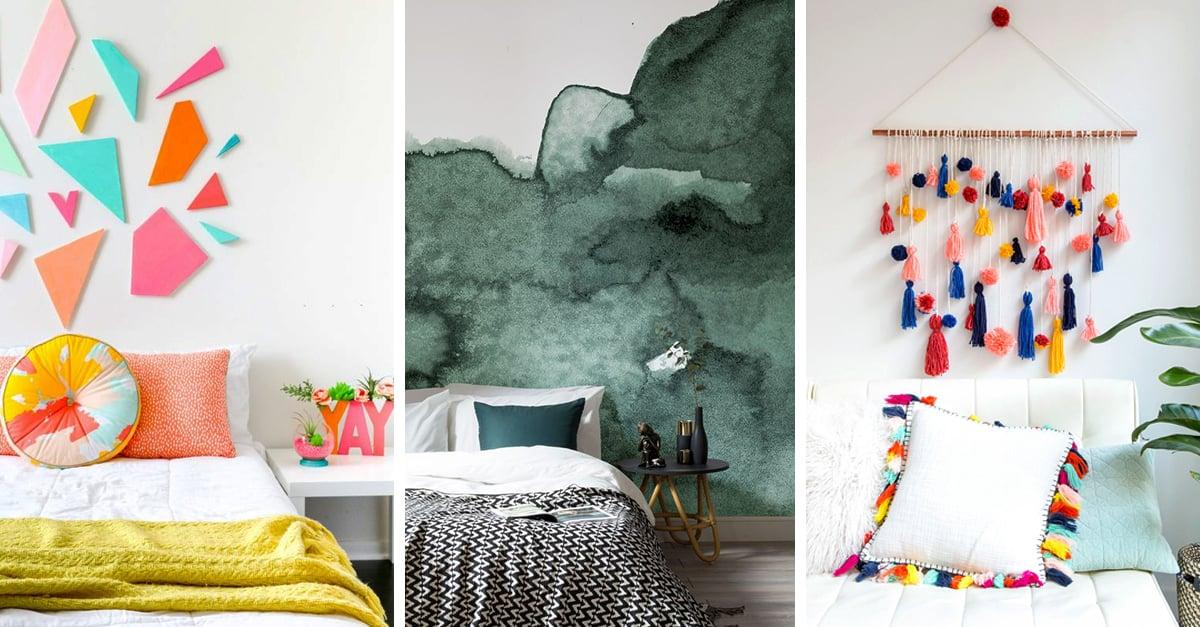 20 Ideas para decorar tu cuarto de forma fácil, linda on Room Decor Manualidades Para Decorar Tu Cuarto id=19815