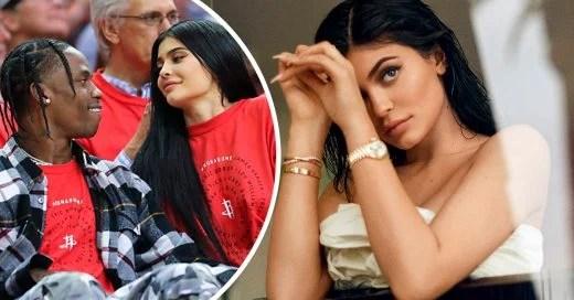Kylie Jenner embarazada de su primer hijo con el rapero Travis Scott