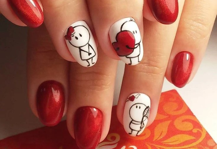 20 Hermosos Diseños De Uñas Para Festejar San Valentín