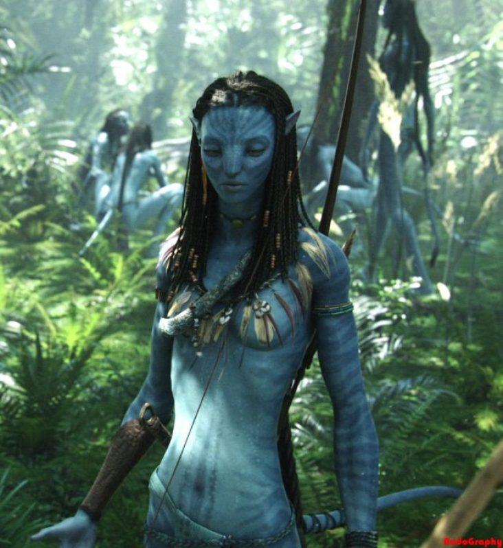 Escena de la película Avatar