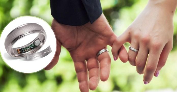 Resultado de imagen para Crean anillos de matrimonio con GPS
