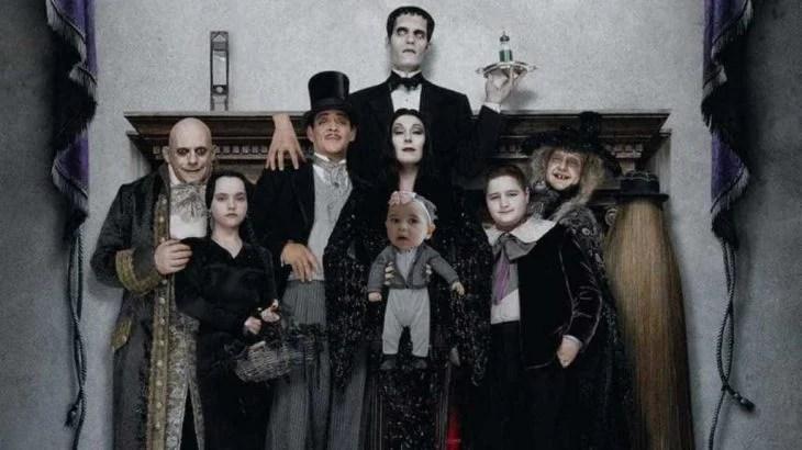 Poster de la película de la Familia Adam's
