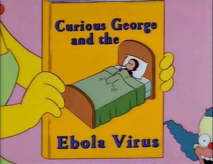 Los Simpson y el brote del virus ébola