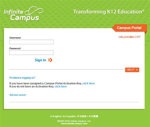 Parent Portal (Infinite Campus) / Student Grades ...