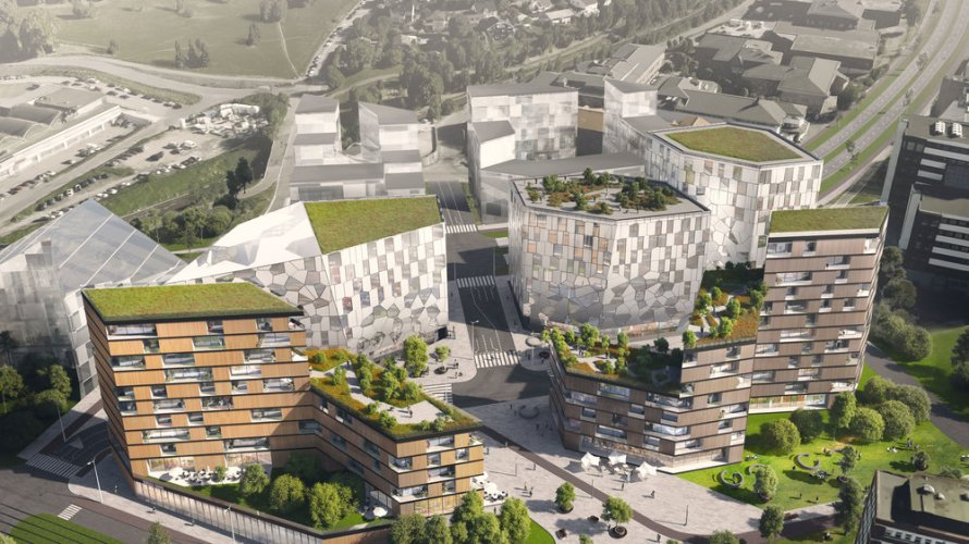 Arkitektene i TOPIC har tegnet et planforslag for Østre Aker vei 29. Dette er tomten som i dag bensinstasjonen Circle K ligger på. Prosjektet ligger tett på Økernsenteret og Økern […]