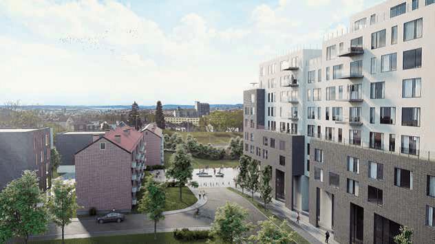Fredensborg vil bygge flere boliger i Sinsenveien