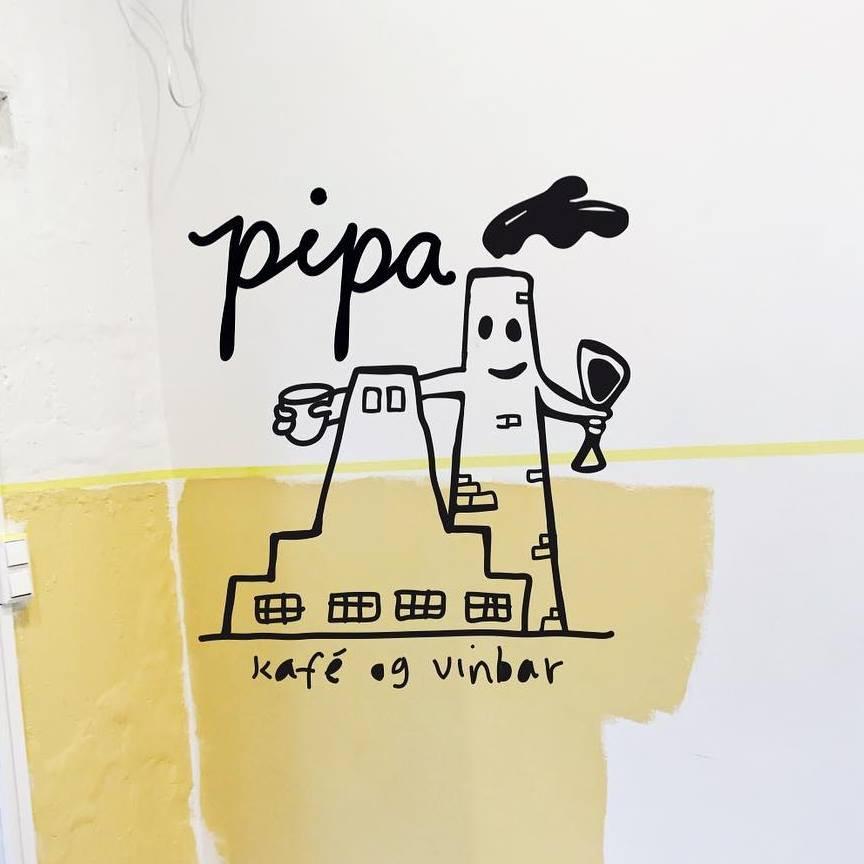 Pipa Kafè og Vinbar åpner 25. april