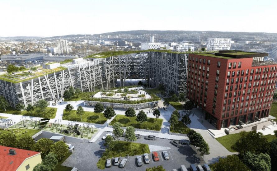 Arkitekten DARK har på vegne av Oslo Pensjonsforsikring sendt inn plansak for å bygge hotell med 212 rom i Lørenfaret 3. For ett år siden ble det kjent at Norlandia […]