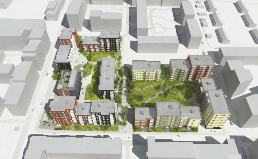 Vi skrev forrige uke om det nye forslaget fra Selvaag med reduserte høyder for prosjektet i Lørenvangen 22 og Peter Møllers vei 13. I det nye forslaget skrev arkitekten at […]