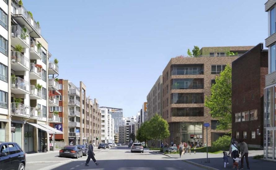 Gregers kvartal i Lørenveien er et prosjekt av boligbyggerlager USBL. Arkitekt for prosjektet er Dyrvik Arkitekter. Nå er det sendt inn rammetillatelse for å bygge seks leilighetsbygg. Prosjektet vil også […]