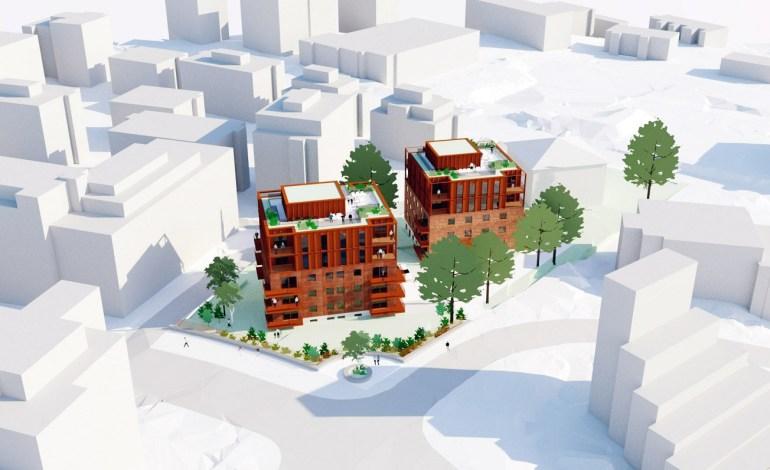 Søker om påbygg med to etasjer og takterrasse i Sinsenveien 31 og 33
