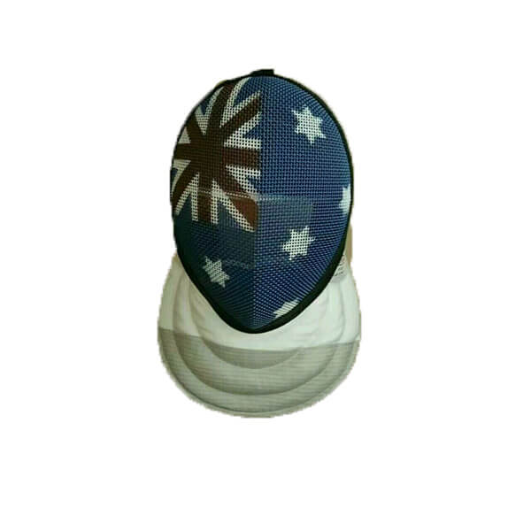 Epee mask with flag2