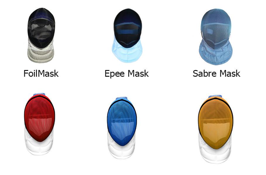 Foil Epee Sabre mask