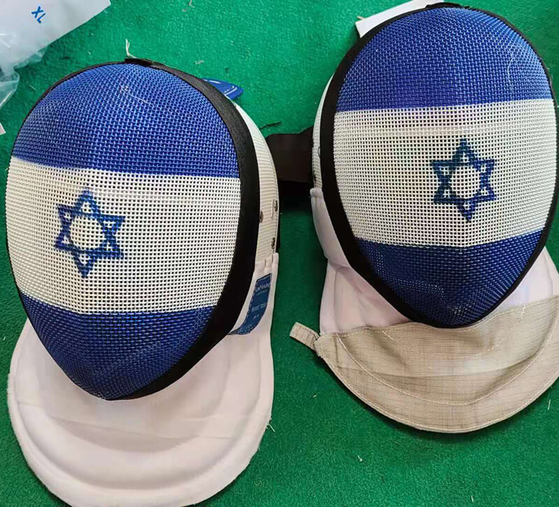 X-Change Foil Mask with Israel Flag from OK Fencing