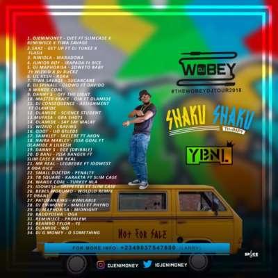 "DJ Enimoney – ""Shaku Shaku Therapy"" Mix"