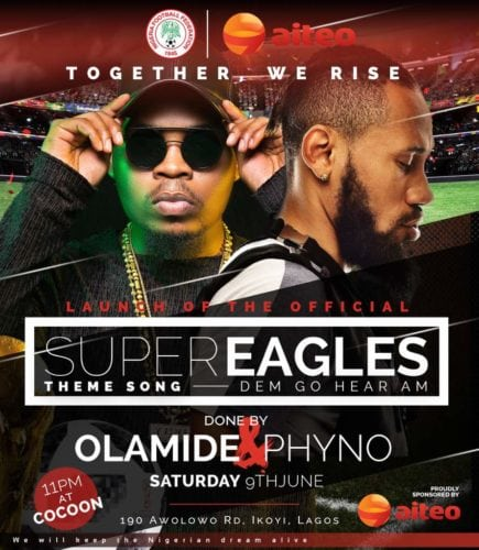 Olamide & Phyno – Road To Russia 2018 (Dem Go Hear Am)