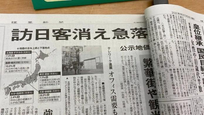 2020年日本地價