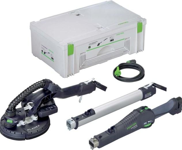 2014- Zakup profesjonalnego sprzętu do szlifowania bez kurzu gładzi szpachlowej marki FESTOOL-PLANEX LHS 225