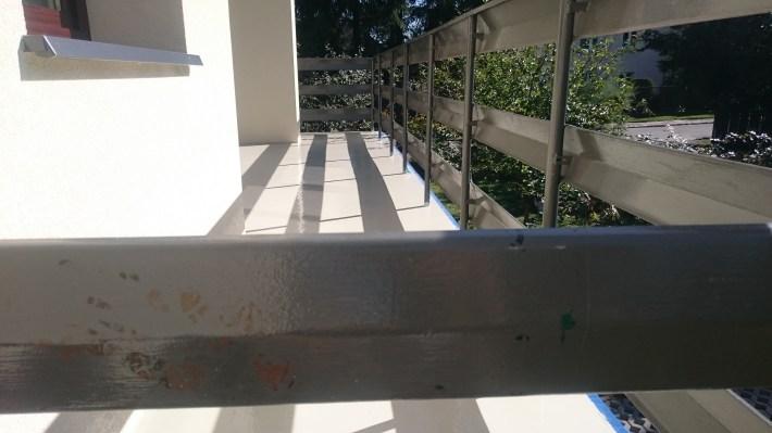 Żywica Sikafloor 410 na balkonie