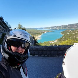 Widok na Lac de Sainte-Croix
