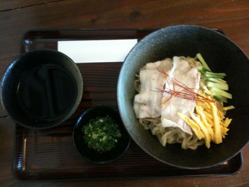 中華風沖縄そばのつけ麺