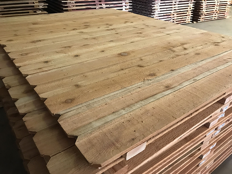 Cedar fence panels 1x6x6 for sale okc oklahoma lumber for Wood decking boards for sale