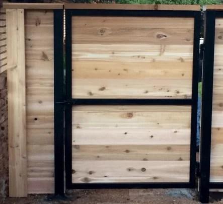 Steel Frame Gates Standard Or Made To Order