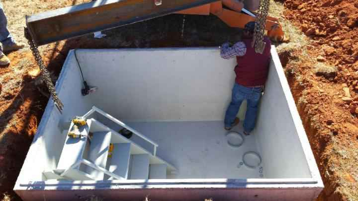 Concrete Storm Shelters Starting At 2400 Rated For An