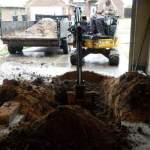 Digging Garage Shelter