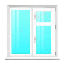 Пластиковые окна с форточкой (цена, фото, размеры) - ОКНА ...