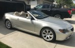 2004 BMW 645 CI Convertible