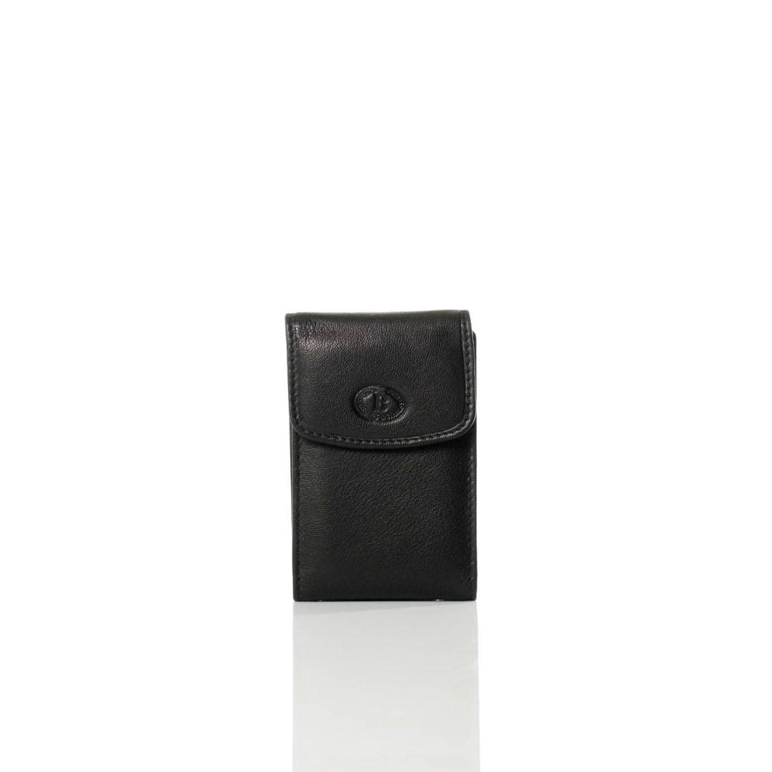 Art. 7826 Portacarte di pelle nero