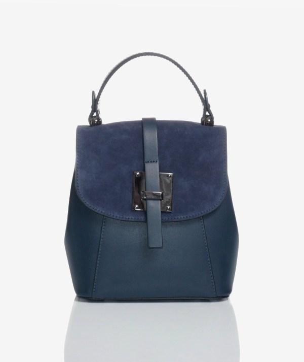 Borsa zainetto elegante blu art 0746 a.jpg