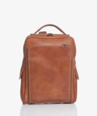 Zaino laptop marrone chiaro