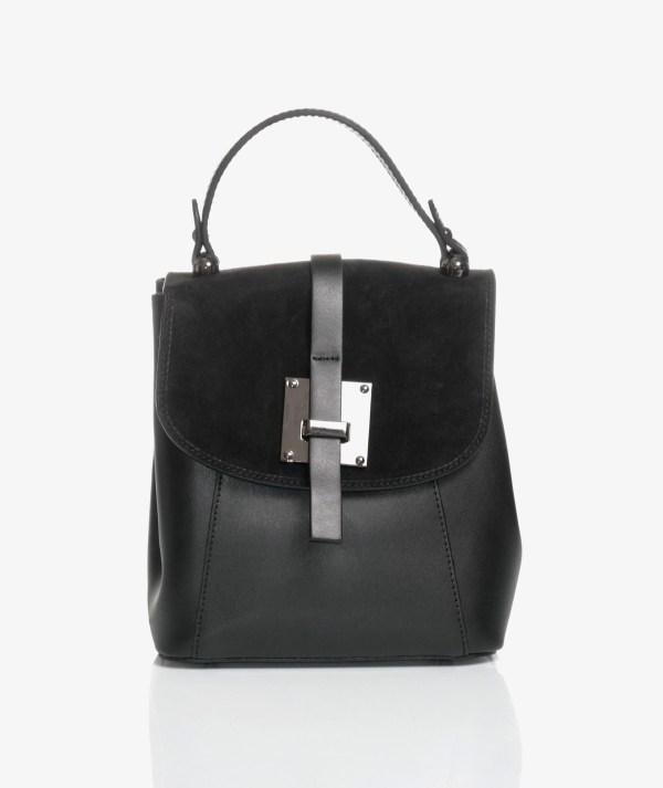 borsa zainetto elegante nera