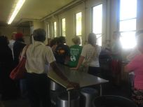 720x540 Group gets information about the steamer and blancher, in Canning corn and peaches at Lowndes High School, by Gretchen Quarterman, for OkraParadiseFarms.com, 12 July 2014