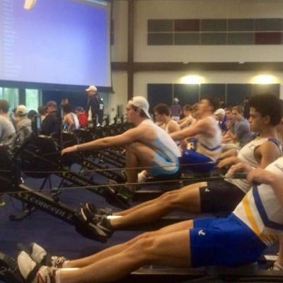Tulsa Youth Rowing Association - Iain K on his way to 3rd in the open junior mens category at SWEAT
