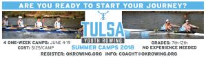 Summer Camp Rowing Tulsa