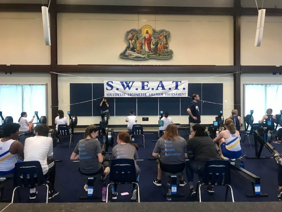 Tulsa Youth Rowing Association Indoor Rowing Competition