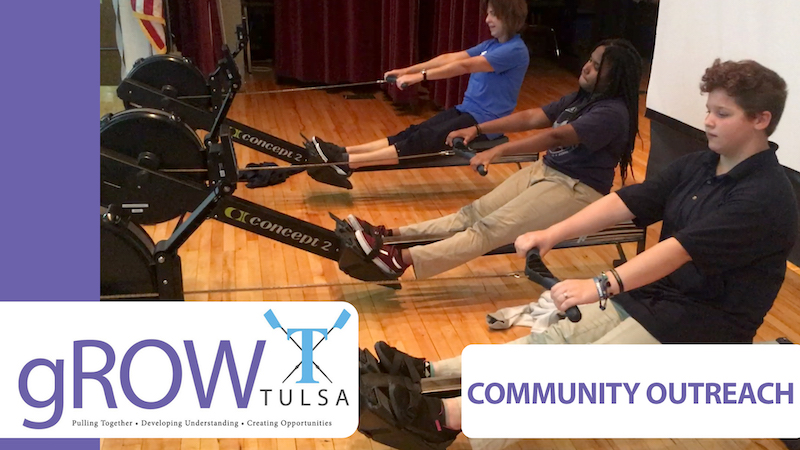 gROW Tulsa Rowing Outreach Fundraising Drive