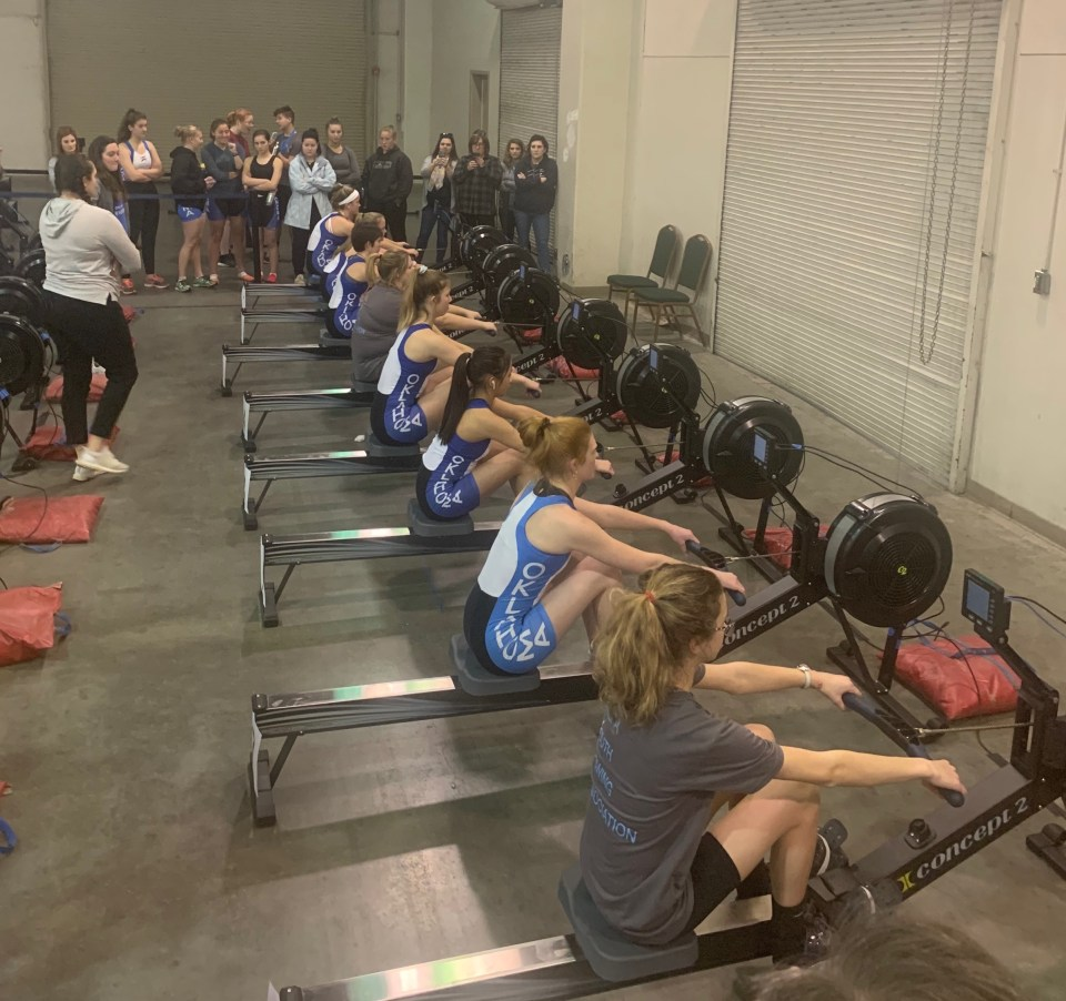 tulsa youth rowing association wins okc riversport indoor challenge