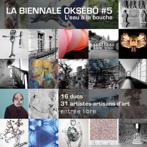 La biennale Oksébô #5 : l'eau à la bouche - 2015