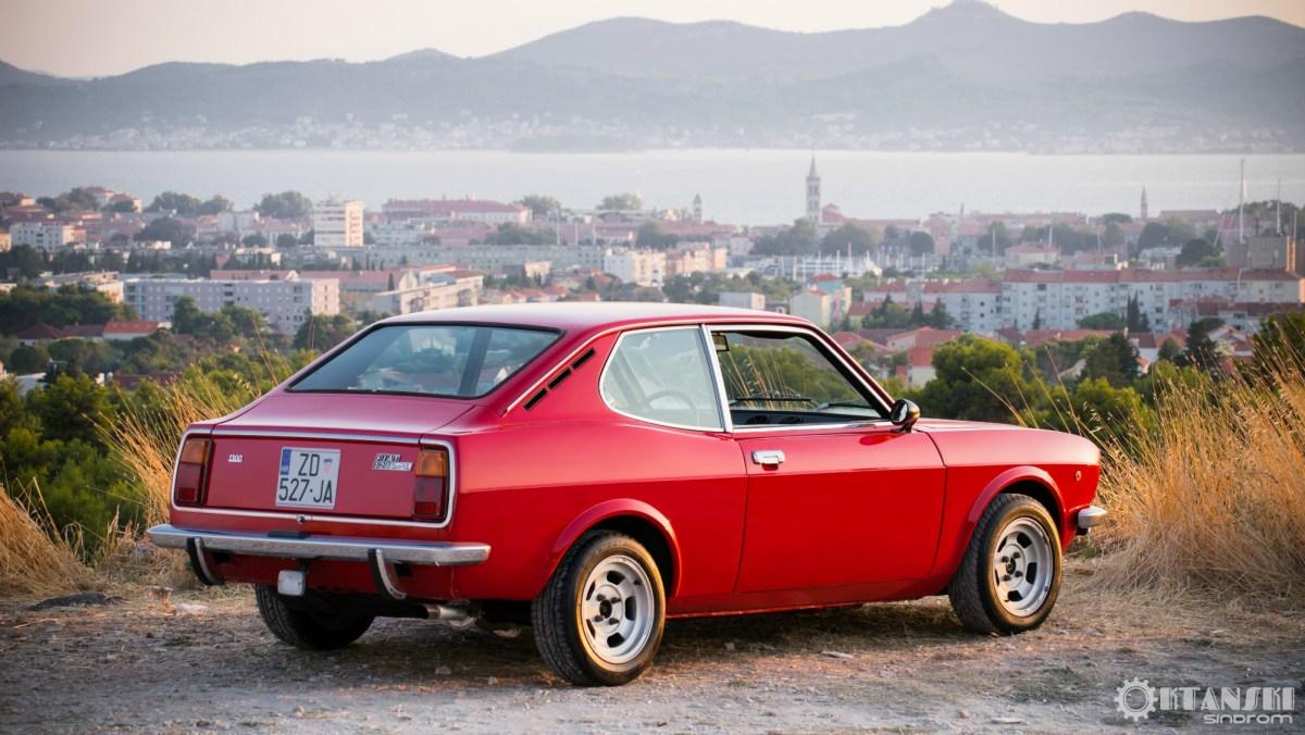 Fiat 128 Sport Coupe - zvijezda u poznim godinama