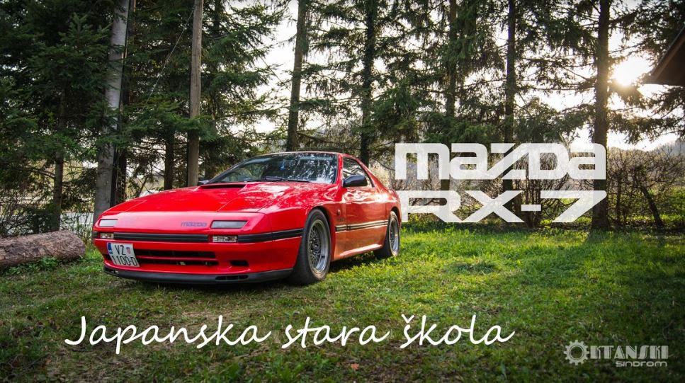 Mazda RX-7 - japanska stara škola