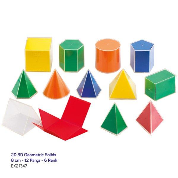 2d 3d Geometric Solids