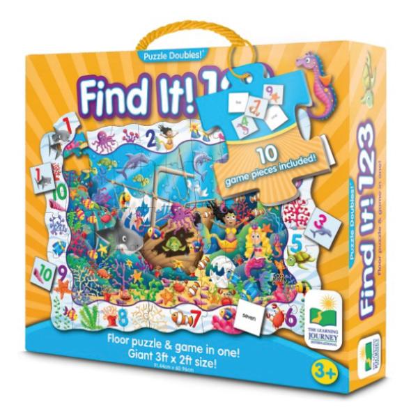Çift Taraflı Puzzle 123